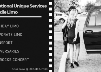 Exceptional Transportation Provided by Eddie Limo Service Near Denver