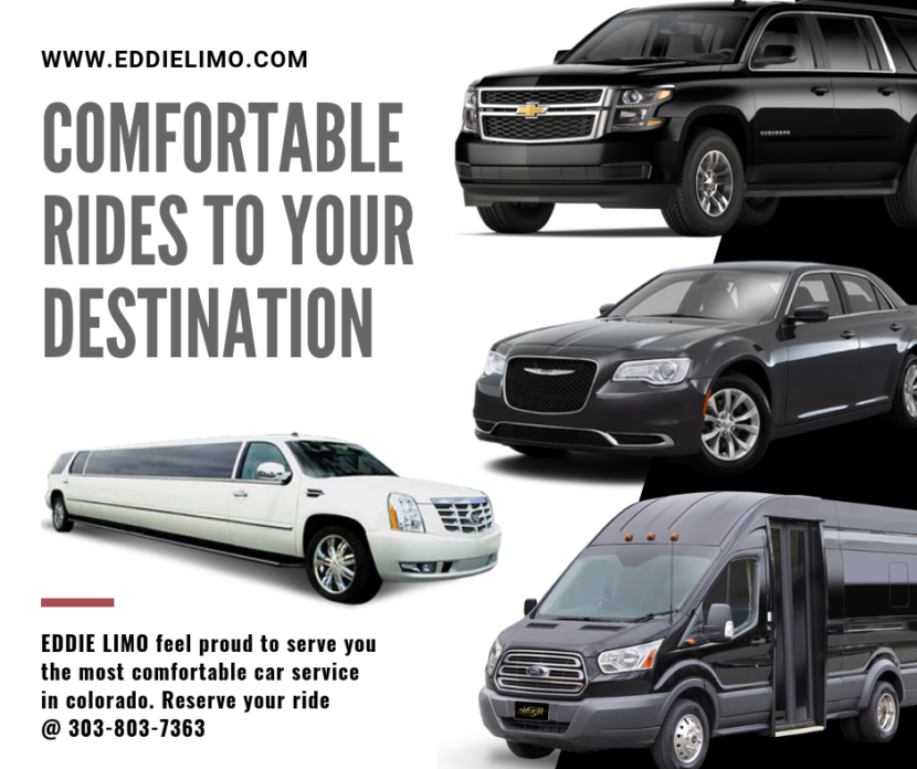 Eddie Limo Fleets in Colorado: Suv, Sedans & Stretch limos